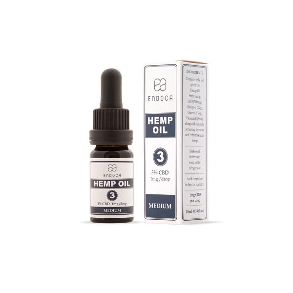 Endoca 3 CBD 10 ml