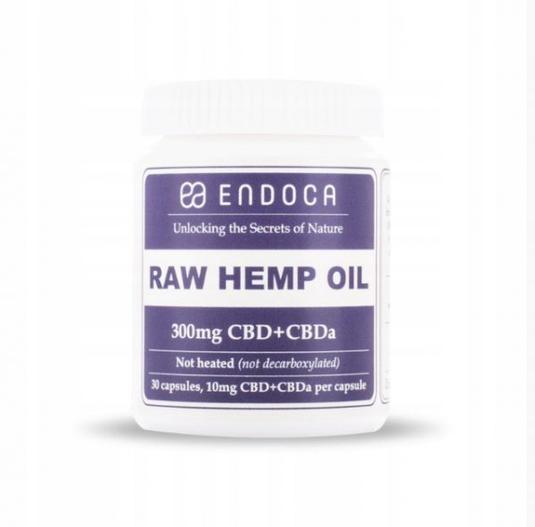 Endoca 300mg Raw CBD CBDa 30szt