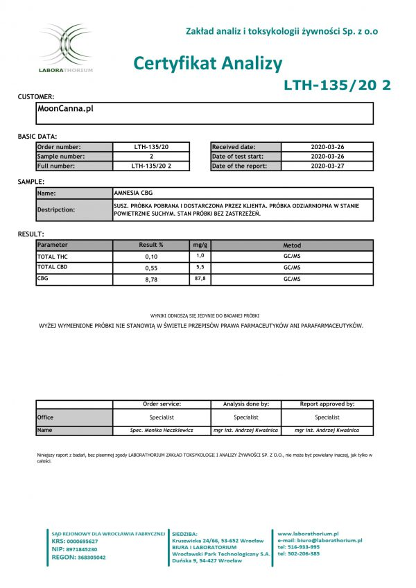 Certyfikat Analizy-Amnesia CBG-LTH_135_20_2-1